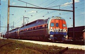 Amtrak's Metroliner at Coatesville, PA  (Mary Jayne's RR Specialties)