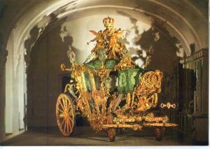 Marstallmuseum, Schloss Nymphenburg, Prunkwagen Konig Ludwigs II, State Coach