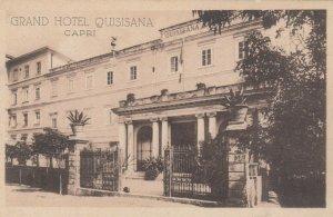 CAPRI , Italy , 00-10s; Grand Hotel Quisisana