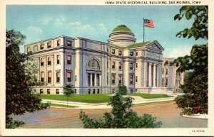 Iowa Des Moines State Historical Building Curteich