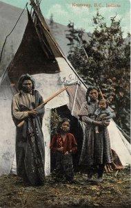 br105831 indians kootenay canada  british columbia