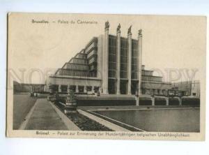 173402 BELGIUM BRUXELLES CONSTRUCTIVISM Palais du Centenaire