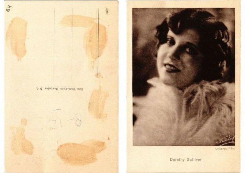 CPA AK Dorothy Gulliver. FILM STAR (559070)