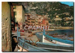 Modern Postcard The Wonderful sites the French Riviera a picturesque corner o...
