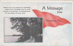 Pennsylvania Scranton 1921 Pennant Series
