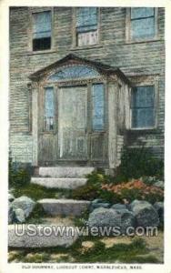 Old Doorway, Lookout Court Marblehead MA Unused