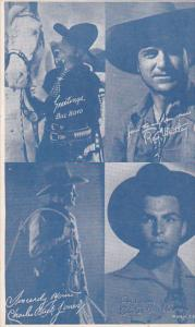 Cowboy Arcade Card Bill Boyd Ray Whitley Charles Buck Jones Buster Crabbe