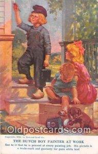 Dutch Boy Painter at Work, Baxter Unused