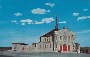 Exterior,  L'Eglise St-Jean Bosco Church,  Magog,  Quebec,  Canada,  40-60s