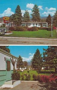 2-views,  Midway Motel,  Hwy 97, Penticton,  B.C.,  Canada,   40-60s