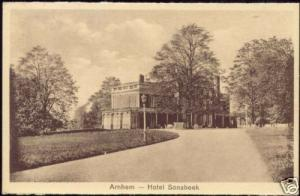 netherlands, ARNHEM, Hotel Sonsbeek (1920s)