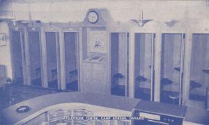 CAMP BORDEN, Ontario, Canada, 1900-1910's; Telephone Centre