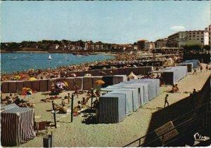 CPA St Jean de Luz La Grande plage FRANCE (1123763)