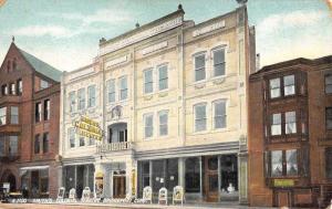 Smith's Colonial Theatre bridgeport connecticut L2608 Antique Postcard