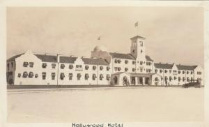 RP: LOS ANGELES, California, 1910s; Hollywood Hotel
