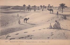 Paysage Saharien - Au Desert , 00-10s
