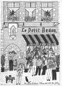 Ilot Sacre Bruxelles, La Maison d'Alsace Petite Rue des Bouchers Le Petit Bedon