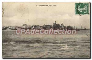 Postcard Old Kernevel near Lorient