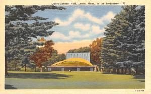 Opera-Concert HallLenox, Massachusetts