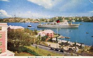 Furness Bermuda Line - Ocean Monarch