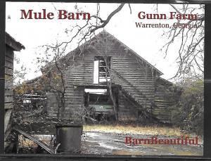 Georgia, Warrenton, Gumn Farm, Mule Barn, unused