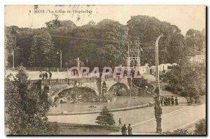 Old Postcard Metz La Grolle Esplanade