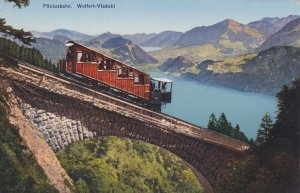 Switzerland Pilatusbahn Wolfort-Viaduct sk3695