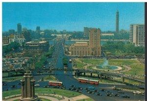 Postcard - Cario - El Tahrir Square Skyline View - Egypt