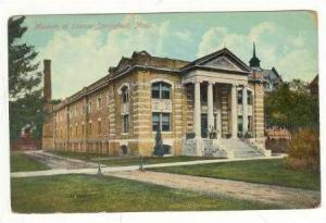 Museum Of Science Springfield, Massachusetts, 1900-1910s