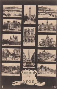 LYON, France, 1900-1910´s; 13-Views, Town Views