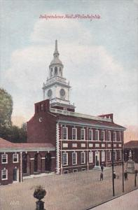 Pennsylvania Philadelphia Indendence Hall 1907