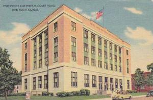 Post office and federal court house, Fort Scott, Kansas, 30-40s