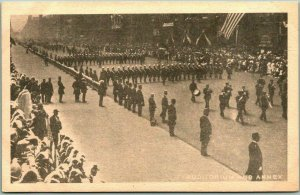 1910 CHICAGO IL Knights Templar KT CONCLAVE Postcard AUDITORIUM AND ANNEX