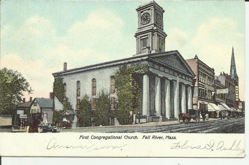 Fall River, Mass., First Congregational Church