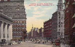 Looking Up State Street From Exchange Street Rochester New York 1912