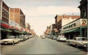 Orillia Ontario Mississauga Street Zellers Store Postcard G96