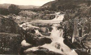 Achnaclearach Falls. Garve  Tuck Real Photograph PC # GE 13