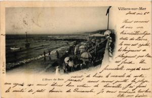 CPA VILLERS-sur-MER - L'Heure du Bain (475822)