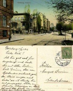sweden, GÖTEBORG, Vasagatan (1912) Postcard
