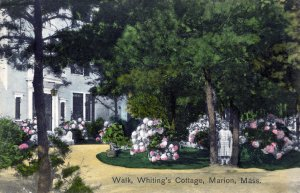 [ Met. News ] US Massachusetts Marion - Walk, Whiting's Cottage