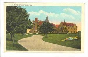 K. O. P. Home, Springfield, Ohio, 1900-1910s