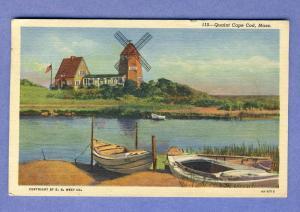 West Harwich, Mass/MA Postcard, Hotel Belmont, Cape Cod