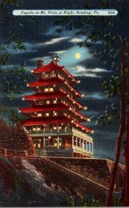 Pennsylvania Reading Pagoda On Mt Penn