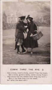 Bamforth Romantic Couple Comin' Thro' The Rye No 2