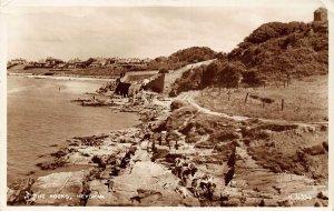 Heysham The Rocks Promenade Valentines Postcard