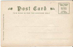 Boston Court House 1906 - 1907 Vintage Undivided Back Postcard Historical Site