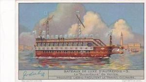 Liebig S1322 Luxury Ships Other Times No 3 Le Bucentaure de Venise