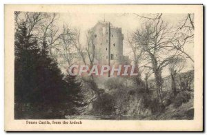 Postcard Old Doune Castle From the Ardoch