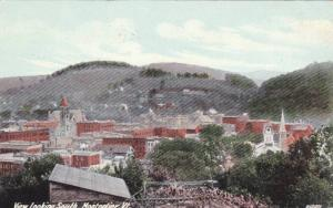 Bird's Eye View looking South, Montpelier, Vermont, PU-1911