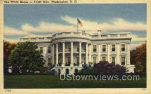 White House Washington DC DC Unused